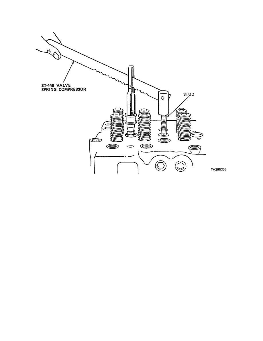 Install valves. (cont)