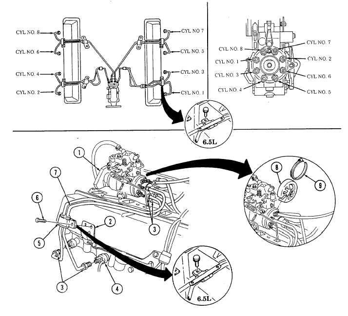 6 5 Turbo Sel Fuel System Diagram, 6, Free Engine Image