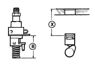 FIGURE 3-11. FUEL INJECTOR Pump Dimensions
