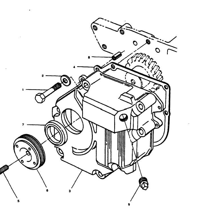 Figure 13. Gear End Cover