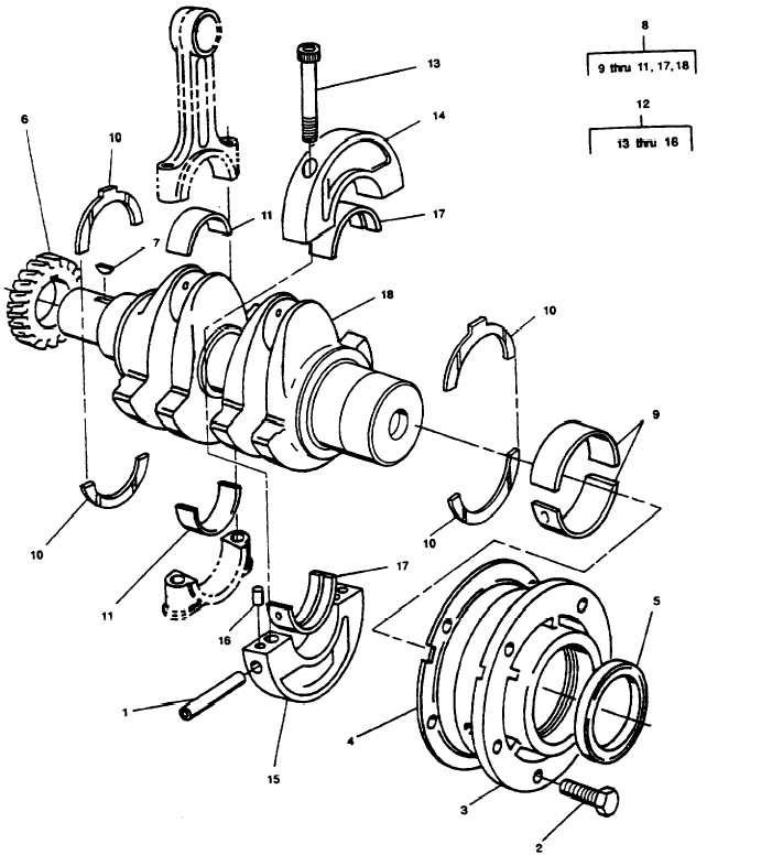 Figure 17. Crankshaft Assembly