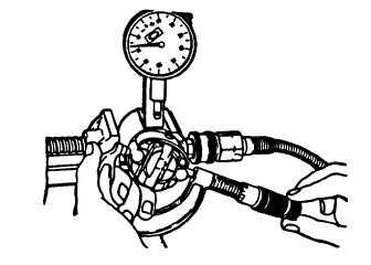 FIGURE 3-74. Measuring Roller-To-Roller Dimension