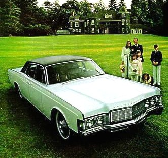 1969 Lincoln Continental Paint Codes