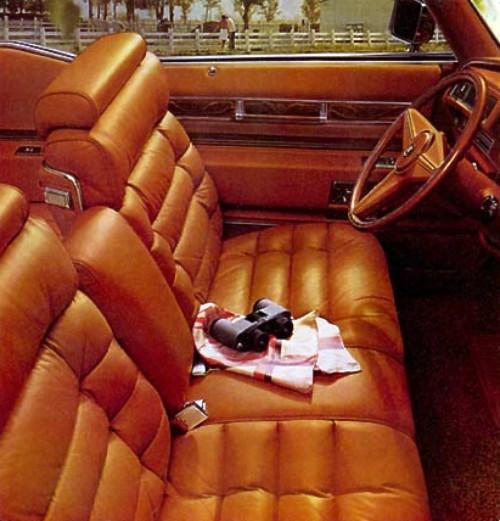 1975 Cadillac Eldorado Interior Trim