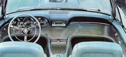 1961 Ford Thunderbird Standard Equipment