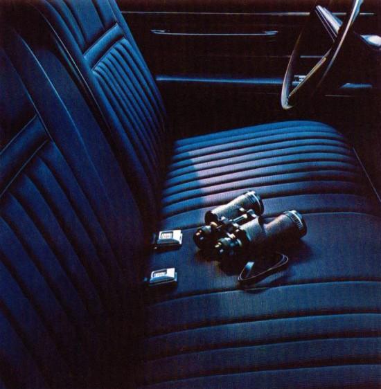 1972 Lincoln Continental Interior Trim