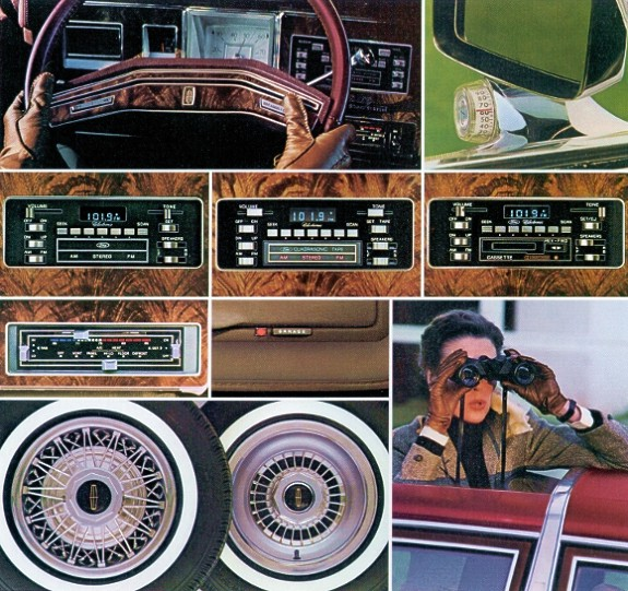 1980 Lincoln Versailles Optional Equipment