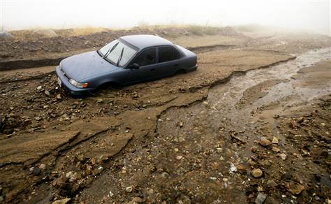 Image result for car stuck in mud