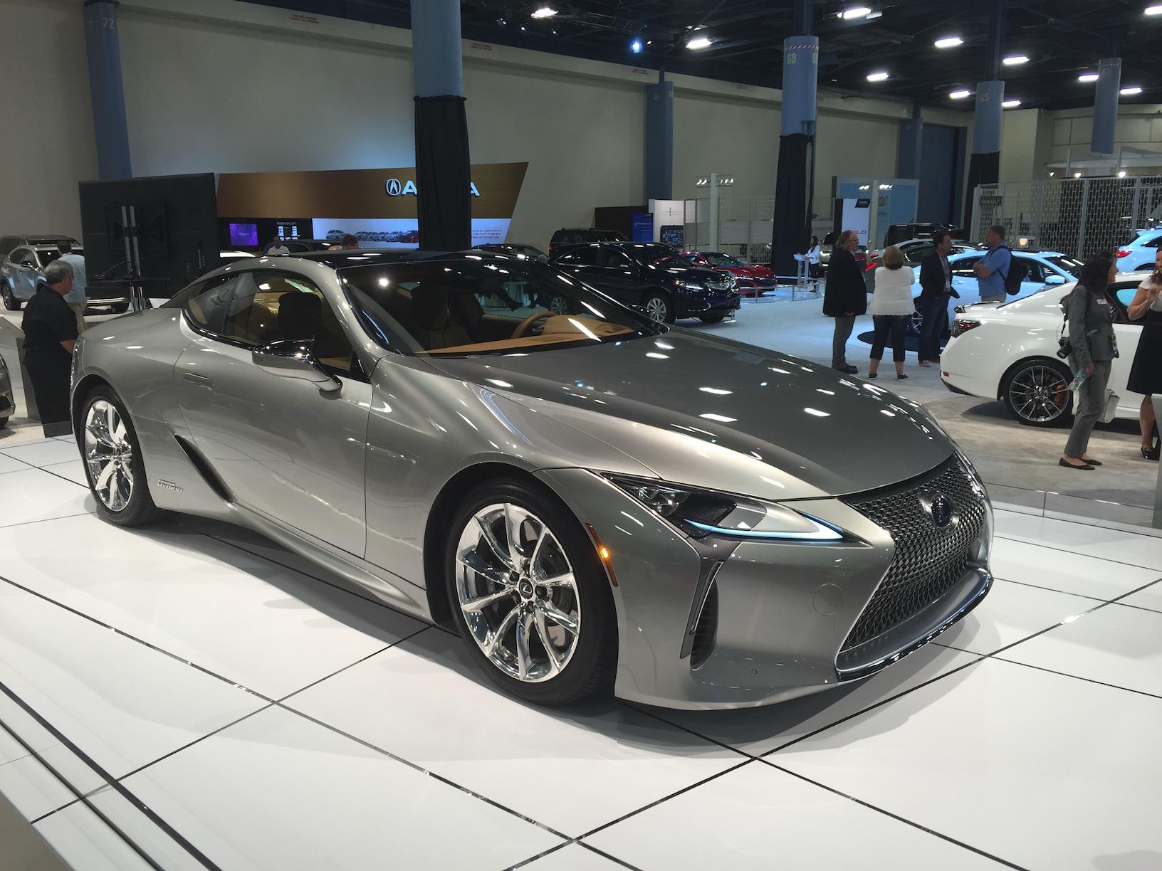 Miami Auto Show Introduction 2018 Lexus LC 500h
