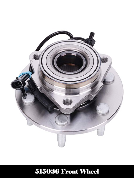 515036 Front Wheel Bearing and Hub Assembly 6 Lug W ABS 4WD AWD Fit for Chevrolet Silverado 1500-Top 10 Best Wheel Bearing Hub Assembly Reviews