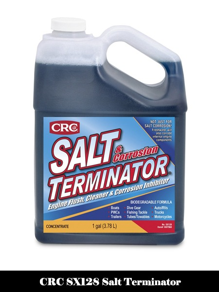 CRC SX128 Salt Terminator Engine Flush, Cleaner and Corrosion Inhibitor - 1 Gallon-Top 10 Best Engine Flushes for Cars Reviews