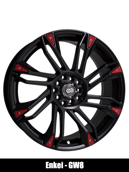Enkei GW8 Matte Black Wheel - Top 10 Best Car Wheels Aftermarket Reviews