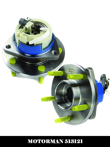 MOTORMAN 513121 Front ABS Wheel Hub and Bearing Set - Both Left and Right - Pair of 2-Top 10 Best Wheel Bearing Hub Assembly Reviews