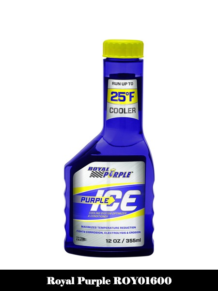 Royal Purple ROY01600 PURPLE ICE SUPER COOLANT, 12 oz, 1 Pack-Top 10 Best Engine Flushes for Cars Reviews