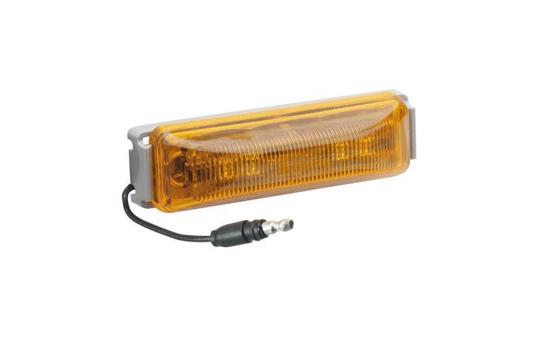 narva 91952 12 volt model 19 l e d external cabin lamp amber part no 91952