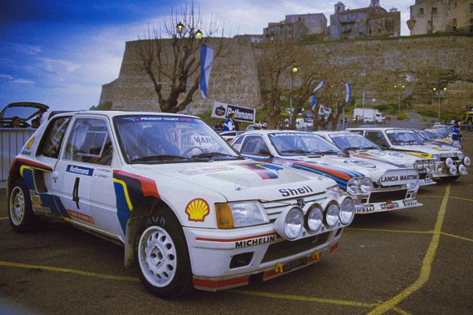 Group B rally