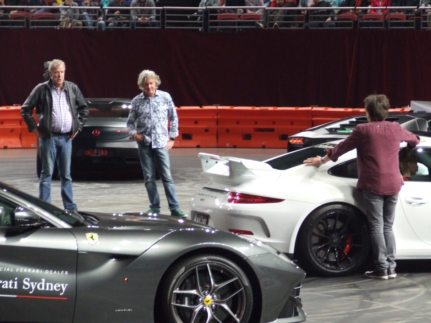 Clarkson, Hammond and May Live