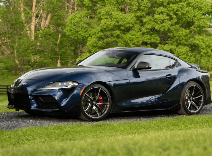 The Production Version of the Toyota Supra Arrives