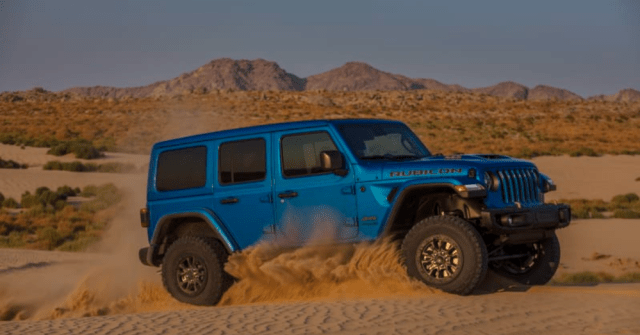 Step Up the Power in the Jeep Wrangler