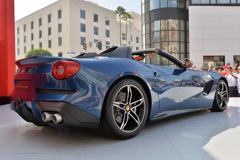 Ferrari F60 America Announced Ferrari F60 America La Couleur Du