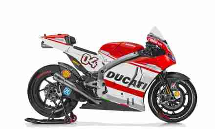 Il Ducati Team presentato all'Audi Forum di Monaco Di Baviera