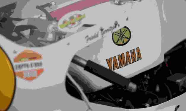 YAMAHA PROTAGONISTA  ALL'ASI MOTOSHOW 2014