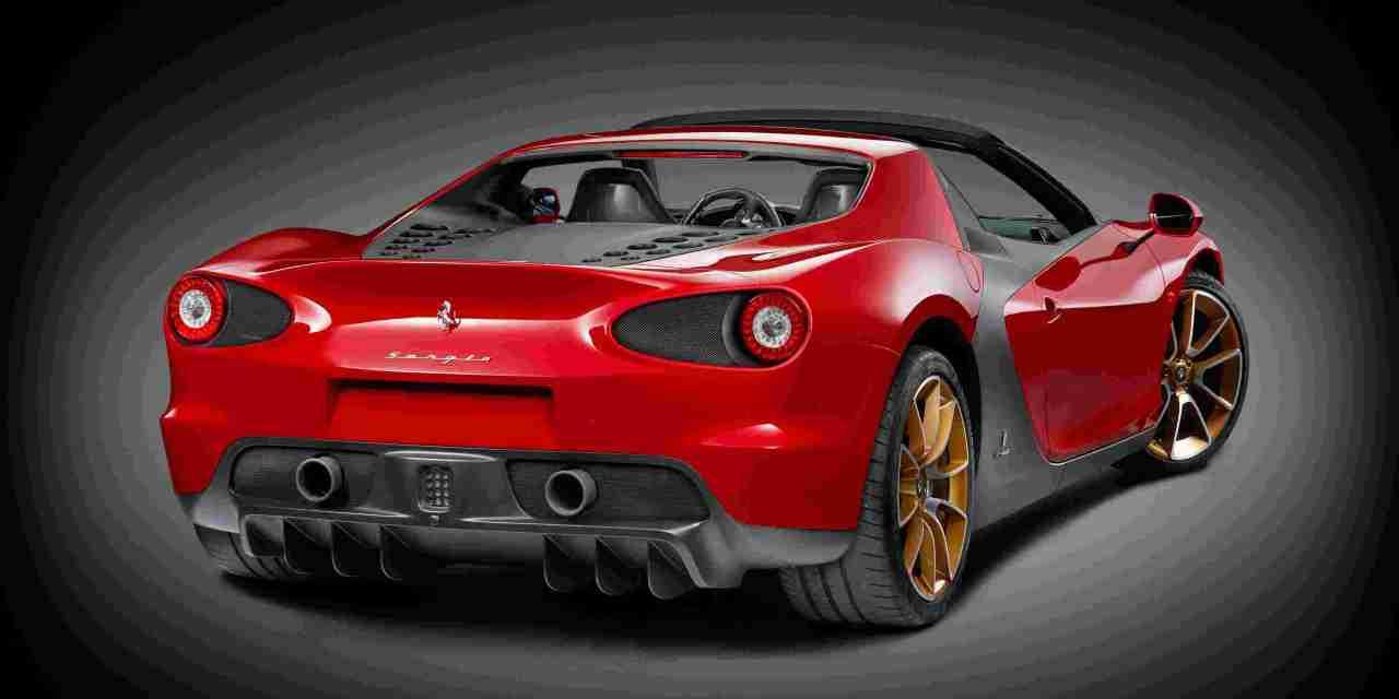 Ferrari Sergio, una roadster in serie limitata.
