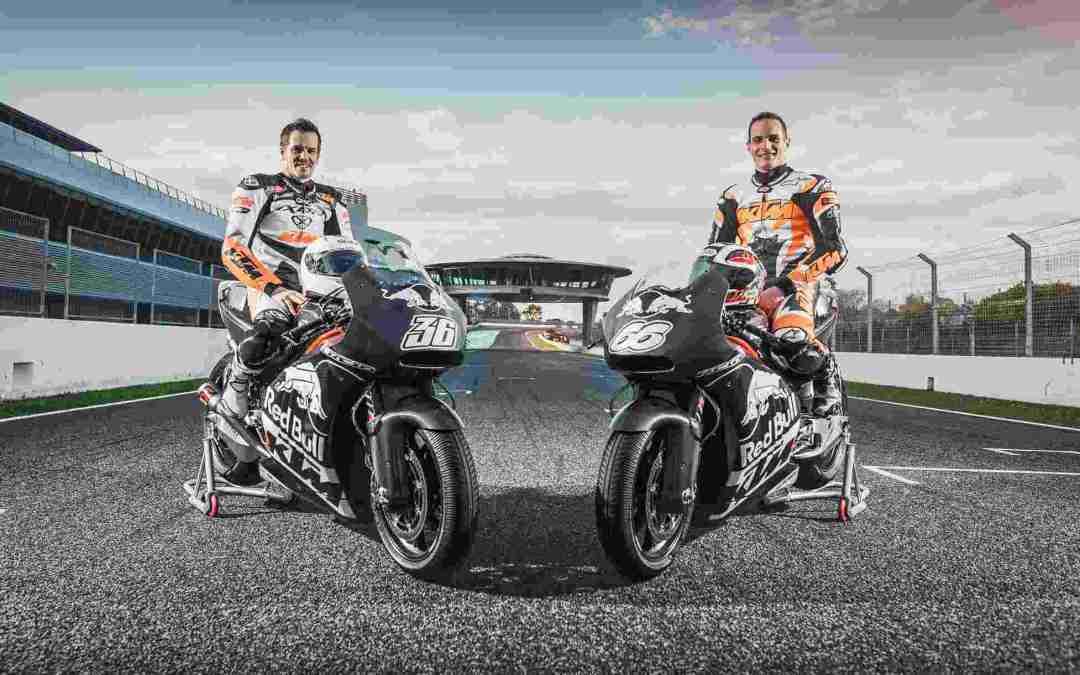 KTM RC16 PRIMI PASSI IN PISTA IN MotoGP!