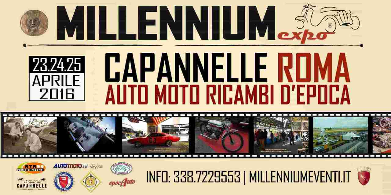 30° MILLENNIUMEXPO: ROMA CAPITALE COLLEZIONISMO STORICO