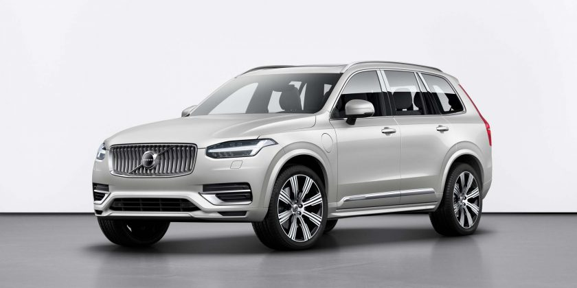 suv with 3 rows and captains chairs video game chair walmart refreshed 2020 volvo xc90 crossover adds android auto rear the set to make its public debut at next month s 2019 geneva motor show doesn t deviate much from current model but it gains some