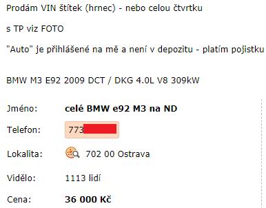 sdruzeni-sova-inzerat-bmw-m3-bazos