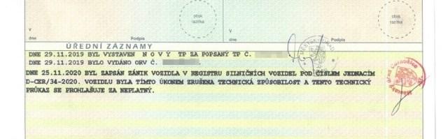 technicky_prukaz-zapis_o_zaniku_vozidla