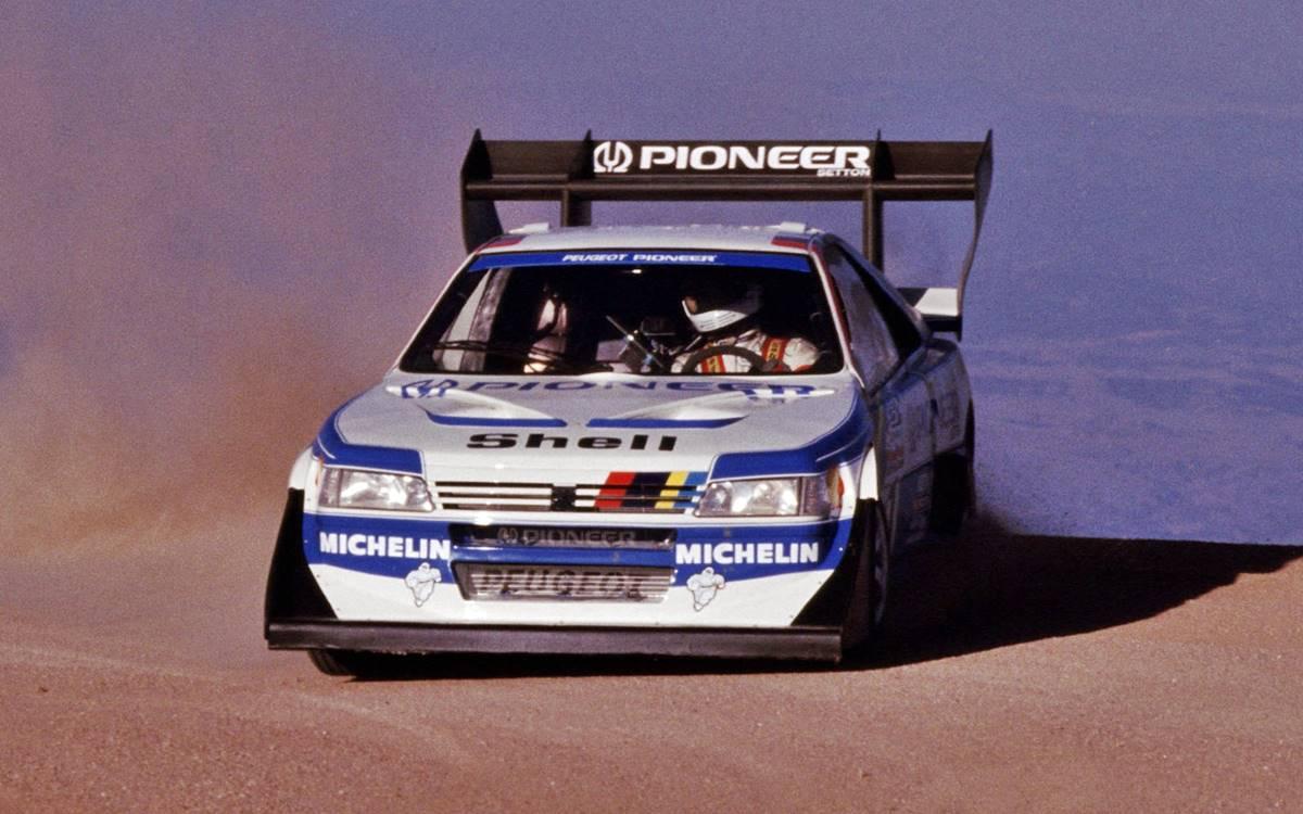Ari Vatanen Pikes Peak 1988