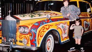 Photo of El psicodélico Rolls-Royce de John Lennon