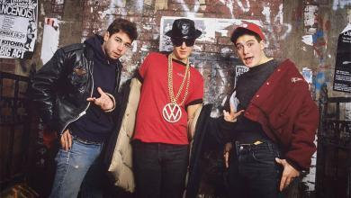 Photo of Beastie Boys: Con el emblema de VW en el pecho