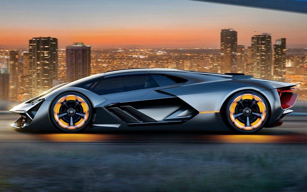 Terzo Millennio, el súper deportivo eléctrico de Lamborghini