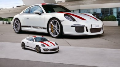 Photo of Un Porsche 911 R en forma de rompecabezas 3D