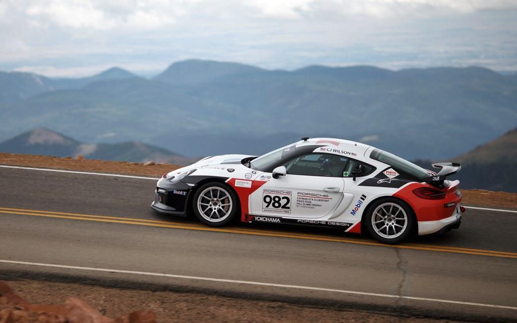 La aventura de Porsche en Pikes Peak