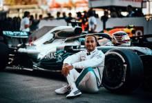 Photo of Lewis Hamilton se prueba la corona