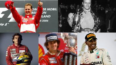 Photo of Schumacher, Fangio, Senna, Prost y Hamilton, los elegidos de Alonso