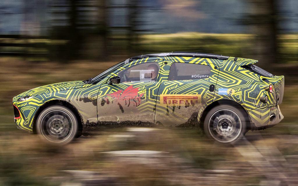 Aston Martin DBX: El primer SUV de la marca se pone a prueba