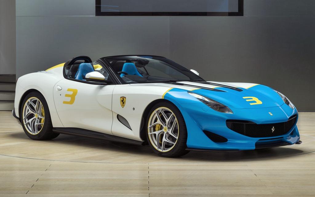 Ferrari SP3JC: Un one-off con espíritu Pop Art