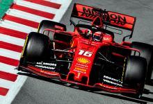 Photo of Charles Leclerc voló con su Ferrari en Barcelona