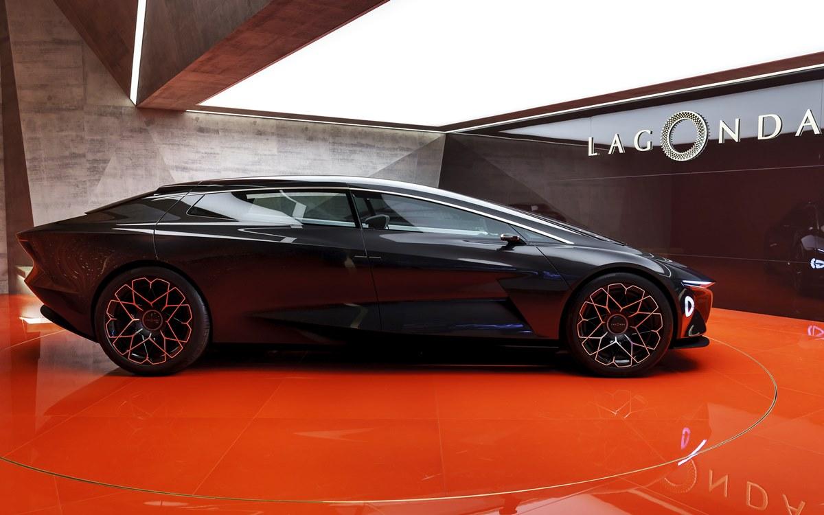 Lagonda All-Terrain Concept: Un SUV deportivo y eléctrico