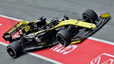Photo of Nico Hulkenberg (Renault), al tope en el último día de tests