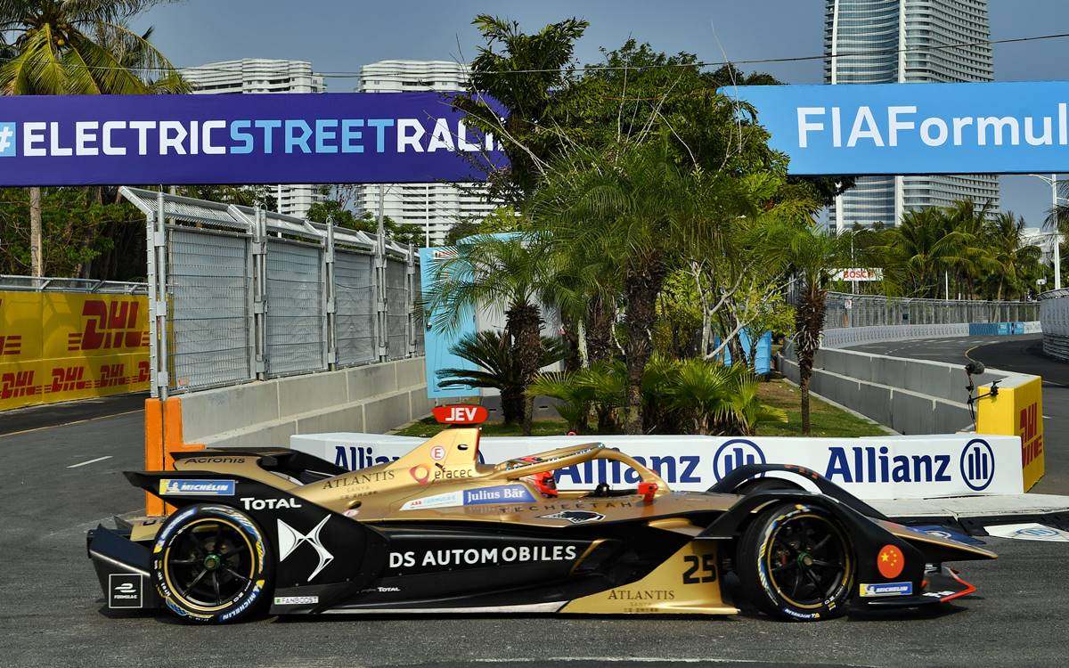 Jean-Eric Vergne le da a DS Techeetah el triunfo de local