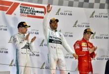 Photo of Lewis Hamilton celebró en el GP de Bahrein