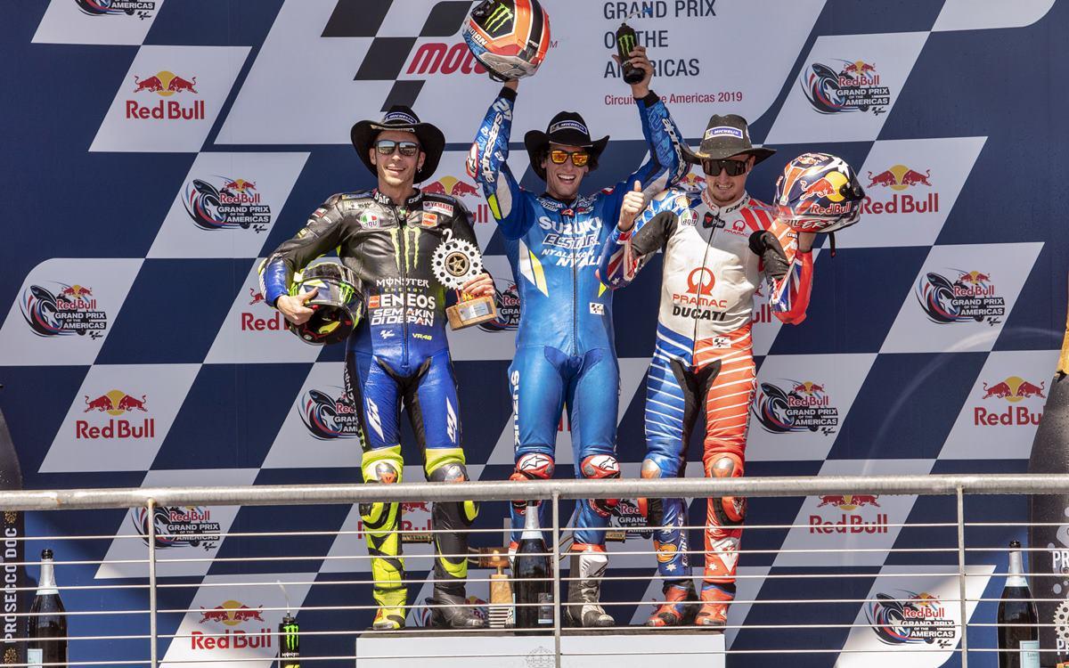 Alex Rins, nuevo ganador en MotoGP