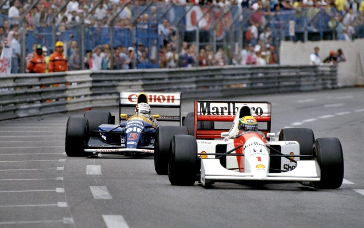 GP de Mónaco: La épica batalla entre Ayrton Senna y Nigel Mansell