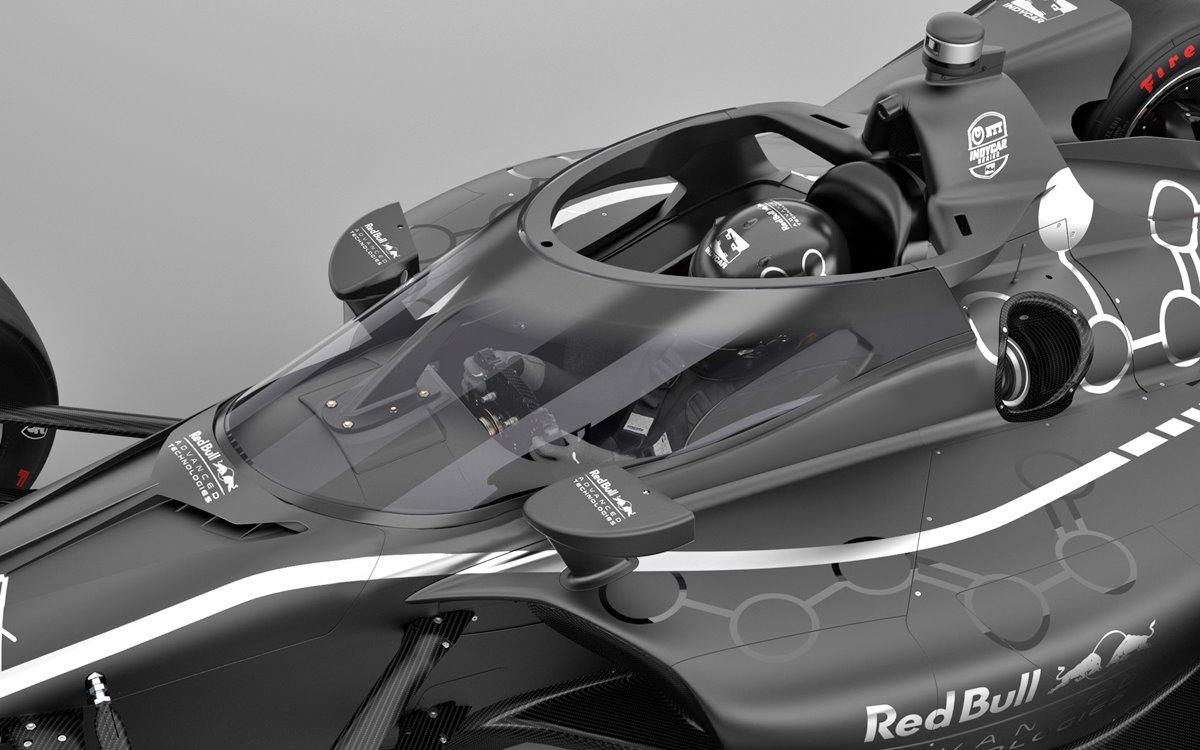 El Aeroscreen llega al IndyCar de la mano de Red Bull